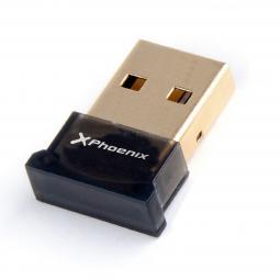 Adaptador bluetooth 4.0 phoenix phusbbtadapter nano dongle usb 2.0 plug and play valido para pc  valido windows -  mac os negro