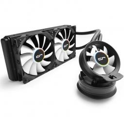 Kit refrigeracion liquida cryorig a40 all in one 120 mm x 2 gaming - Imagen 1
