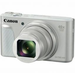 Camara digital canon powershot sx730 hs 20.3mp -  zoom 80x -  zo 40x -  3'' -  full hd -  wifi -  nfc -  silver - Imagen 1