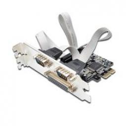 Tarjeta ewent combo serie & paralelo pci express 2+1 puertos - Imagen 1