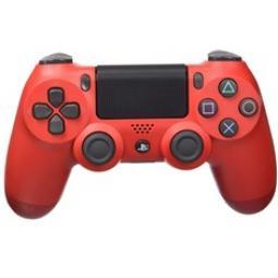 Accesorio sony ps4 -   mando dualshock rojo - Imagen 1