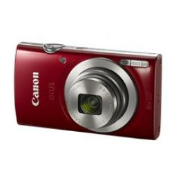 Camara digital canon ixus 185 roja 20mp zoom 16x -  zo 8x -  2.7pulgadas litio -  videos hd -  fecha - Imagen 1
