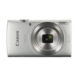 Camara digital canon ixus 185 plata 20mp zoom 16x -  zo 8x -  2.7pulgadas litio -  videos hd -  fecha - Imagen 1