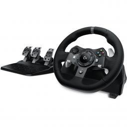 Volante logitech g920 gaming driving force racing wheel para pc & xbox - Imagen 1