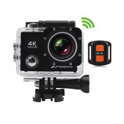Video camara sport phoenix xsport4k wifi pantalla 2.0pulgadas 4k fhd resistente agua estabilizador de imagen micro hdmi control