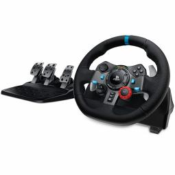 Volante logitech g29 gaming driving force racing wheel for playstation - Imagen 1