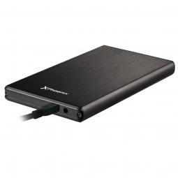 Caja externa portatil - carcasa sdd - hdd para disco duro phoenix phharddiskcase usb 3.0 sata 2.5pulgadas aluminio color negro -