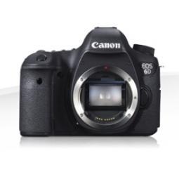 Camara digital reflex canon eos 6d body (solo cuerpo) cmos -  20.2mp -  digic 5+ -  11 puntos enfoque -  wifi - Imagen 1