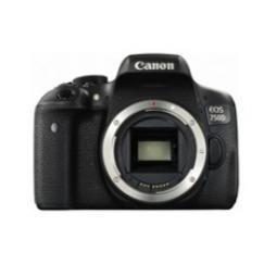 Camara digital reflex canon eos 750d body (solo cuerpo) cmos -  24.2mp -  digic 6 -  tactil - Imagen 1