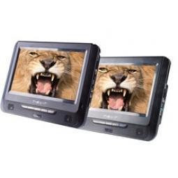 Dvd portatil nevir 2 pantallas 7pulgadas lcd - usb - lector sd - Imagen 1