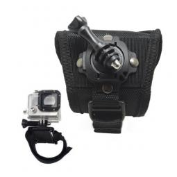 Accesorio soporte muñeca ajustable con rotacion velcro de 360 phoenix para camaras sport & gopro hero 4 - 3+ - 3 - 2 - 1 de colo