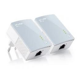 Pack x2 adaptadores de red linea electrica 500mbps powerline tp - link - Imagen 1