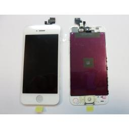 Repuesto pantalla lcd+touch completa para apple iphone 5g blanco - Imagen 1
