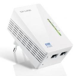 Adaptador de red wifi linea electrica av600 300mbps powerline tp - link - Imagen 1