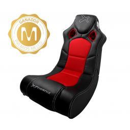 Sillon -  sofa phoenix gaming racer negro incorpora sistema de sonido 2.1 - Imagen 1