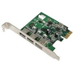 Tarjeta pci express 2 firewire 1394 800 mbps +1 400 mbps - Imagen 1