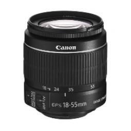 Objetivo canon ef - s 18 - 55mm 3.5 - 5.6 is ii - Imagen 1