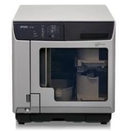Duplicadora + impresora profesional cd - dvd epson pp - 100ii - Imagen 1