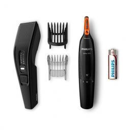 Cortapelo philips hairclipper hc3510 - 85 + naricero 13 ajustes -  2peines -  cuchilla lavable - naricero nt1150 - 10 - Imagen 1