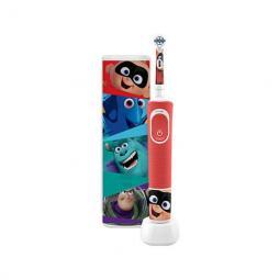Cepillo dental electrico oral - b d100 kids pixar cabezal extra soft -  temporizador -  estuche viaje - Imagen 1
