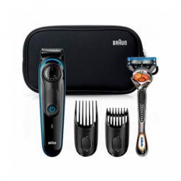 Barbero cortapelos braun bt3940 + gillete + estuch lavable -  39 ajustes -  1 - 20mm -  perfila -  pelo y barba - Imagen 1