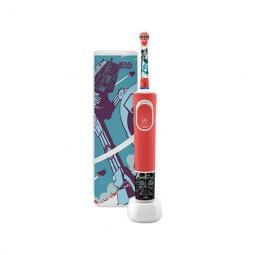 Cepillo dental electrico oral - b d100 kids star war cabezal extra soft -  temporizador -  estuche viaje - Imagen 1