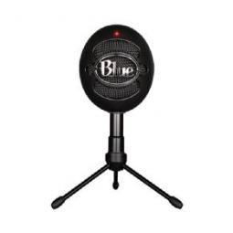Microfono logitech blue snowball ice negro usb - Imagen 1