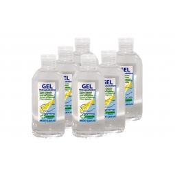 Verita farma gel hidroalcoholico 100ml pack 6 unidades aroma limon - Imagen 1