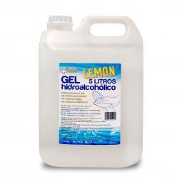 Verita farma gel hidroalcoholico 5 l aroma limon - Imagen 1