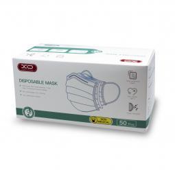 Mascarilla higienica quirurgica  caja de 50 unidades triple capa. - Imagen 1