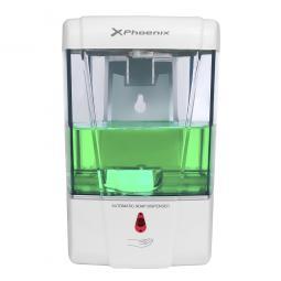 Dispensador automatico de gel phoenix 700ml de capacidad instalacion en pared alimentacion por pilas no incluidas - Imagen 1