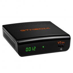 Receptor satelite gtmedia v7 s2x - wifi usb ( no incluye ) - dvb - s -  s2 -  s2x - h.265 - pvr ready - 1080p - Imagen 1