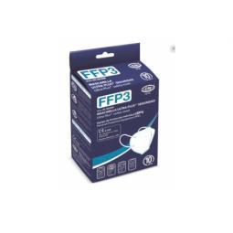 Mascarilla ffp3 nr ce azul caja 10 unidades - Imagen 1