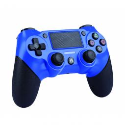 Mando nuwa ps4 dual shock bluetooth - azul - Imagen 1