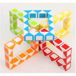 Juego de ingenio qiyi snake 24 piezas colores surtidos - Imagen 1