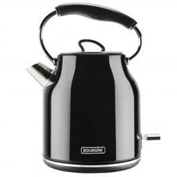 Hervidor de agua bourgini nostalgic water kettle deluxe negro 1.78l - Imagen 1