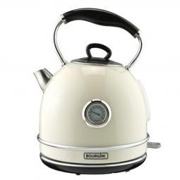 Termo calentador de agua bourgini nostalgic thermo kettele crema 1.7l - Imagen 1